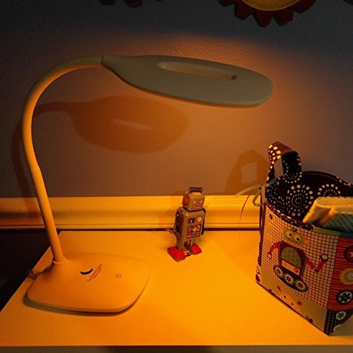 SomniLight Dimmable Amber Nursery Lamp by SomniLight