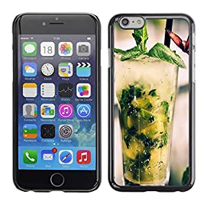 CASEMAX Slim Hard Case Cover Armor Shell FOR iPhone 6- COOL MOJITO COCKTAIL