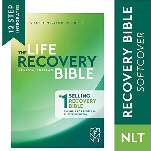 Tyndale NLT Life Recovery Bible (Softcover): 2nd Edition - Addiction Bible Tied to 12 Steps of Recovery for Help with Drugs, Alcohol, Personal Struggles - With Meeting Guide (Best New Life Recovery)