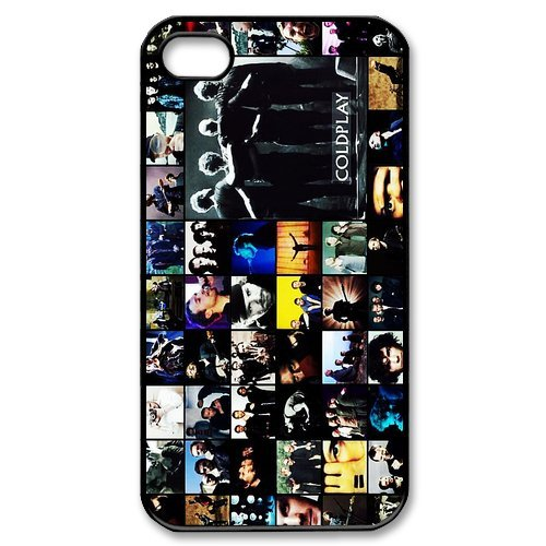 Fayruz- Coldplay Protective Hard TPU Rubber Cover Case for iPhone 4 / 4S Phone Cases A-i4K295