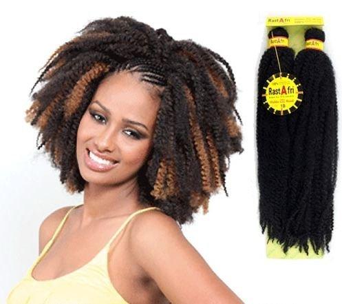 RastAfri Malibu Afro Kinky Braid (14