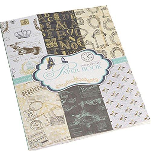 Making Memories 12x12 Paper - S&B Scrapbook Paper 24 Sheets Vintage Pad 9