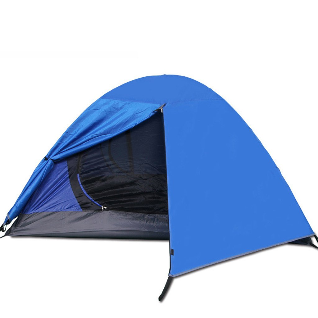 Zelt LINGZHIGAN Camping Outdoor-Multi-Person verlängert Set Double-Layer-Outdoor-Camping