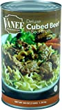 Vanee Foods Cubed Beef in Broth, 48 Ounce -- 6 per case.