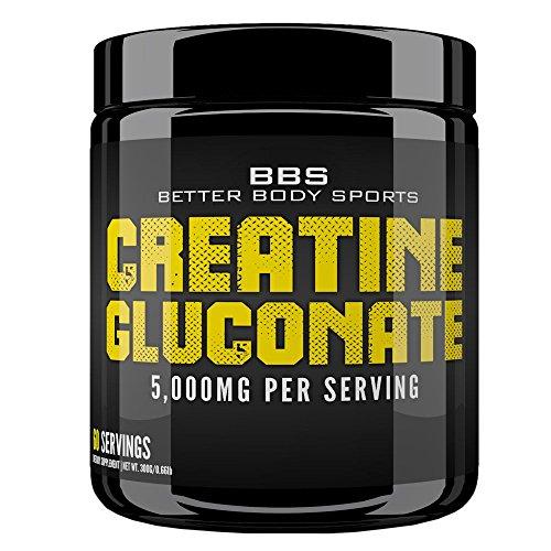 UPC 662425016075, Creatine Gluconate Powder Supplement - 300 Grams of Pure Raw Powder! 100% Risk Free Money Back Guarantee!