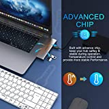 USB C Adapter for MacBook Pro 2020, MacBook Pro USB Adapter HDMI MacBook Pro Dongle with 4KHDMI, 3 USB 3.0, TF/SD, USB-C Thunderbolt 3 100W
