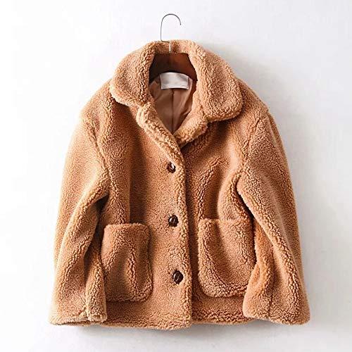 Donna Khaki Caldo Spesso Solide Piumino Cardigan Inverno Giacca Lungo Tasche Morwind Invernale Giubbotto Cappotto Lunghi 6nwxTP5