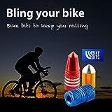 Bike Bits Presta Valve Caps - Use On