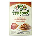 Image of Wellness Trufood Complements Natural Grain Free Wet Raw Dog Food, Chicken, Salmon & Pumpkin, 2.8-Ounce Pouch (Pack Of 24)