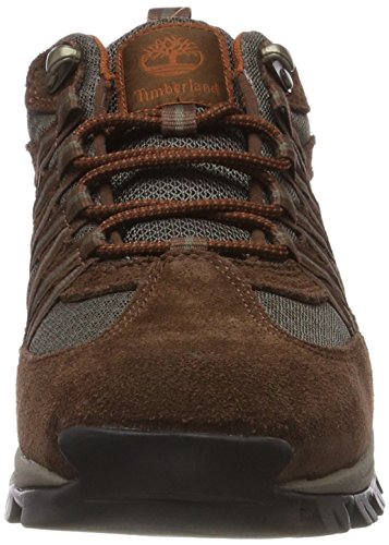 Timberland MT Maddsen Lite Hiker, Scarpe Stringate Oxford Uomo Marrone (Dark Brown 931)