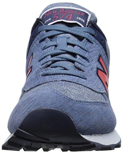New Balance Nbml574Mon - Zapatillas de deporte para hombre Gris (Ttd Grey/Yellow)