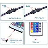 WenTop Wifi Wireless Smart Phone Controlled Led Strip Light Kit with DC12V UL Listed Power Supply Non Waterproof SMD 5050 32.8Ft(10M) 300leds RGB Timer LED Tape Lights Work with Android, IOS and Alexa