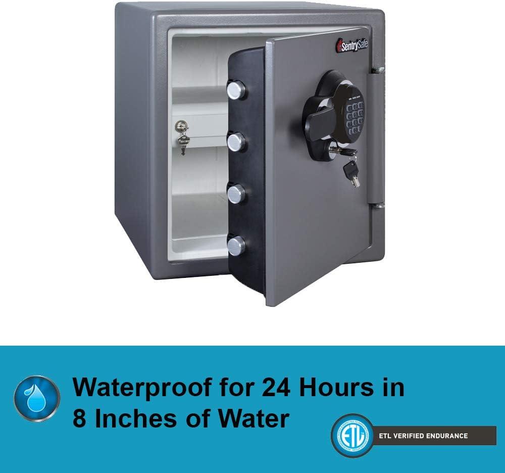 SFW123EU SentrySafe Fire and Water Safe 1.23 Cubic Feet Extra Large Digital Safe