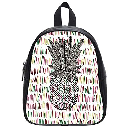 Hotstyle Pineapple Kid's School Bag Fruit PU leather Backpack