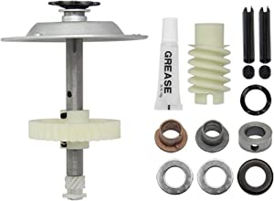 Gear and Sprocket Kit 041C4220A Replacement for Liftmaster Chamberlain Sears Craftsman Garage Opener Parts,Include Helical Gear,Worm Gear,Wear Bushings,Grease etc Belt Drive Gear Hardware Part