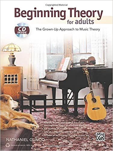 Book Beginning Theory for Adults: The Grown-Up Approach to Music Theory, Book & CD