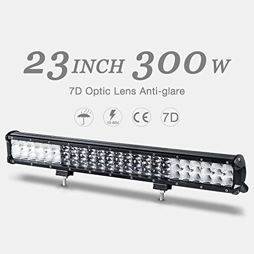 dwvo dwvo 7d 23 u0026quot  led light bar triple row 300w  30000lm