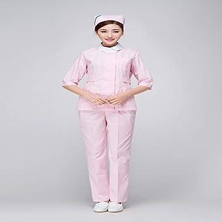 QZHE Abbigliamento medico Camice Mediche Mediche della Clinica Dentaria Dell'Uniforme Dell'Ospedale del Corredo Medico Medico