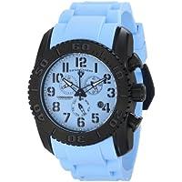 Swiss Legend Men's 11876-TIB-012 Commander Analog Display Swiss Quartz Blue Watch