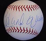 Hank Aaron Autographed Baseball - hologram & coa - Steiner Sports Certified - Autographed Baseballs