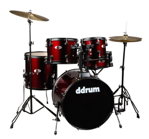 ddrum D120B BR D Series 5 Piece Drum Set Complete, ()