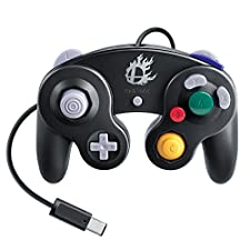 Nintendo Super Smash Bros. Black Classic Gamecube Controller (Japan import)