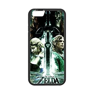 The Legend of Zelda for iPhone 6 Plus 5.5 Inch Cell Phone Case & Custom Phone Case Cover R48A651291