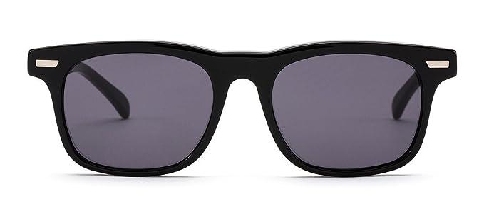 fdb7e17e6789 Amazon.com  OTIS Eyewear Trendwell   Black Grey Polarized Unisex ...