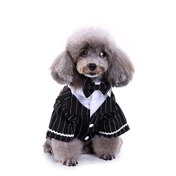 BAONUAN Vestiti Ropa para Mascotas Ropa para Mascotas Traje ...