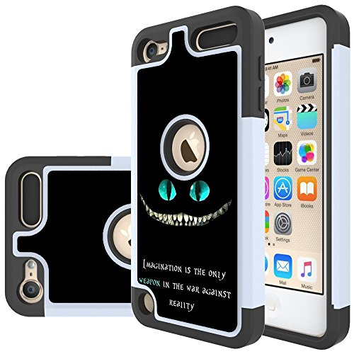 iPod Touch 6th Generation Case,iPod Touch 5th Generation Case,Yiakeng Shockproof Protection Tough Rugged Dual Layer Armor wallet accessories Case Cover for Apple iPod Touch 6/5 (magination weapon)