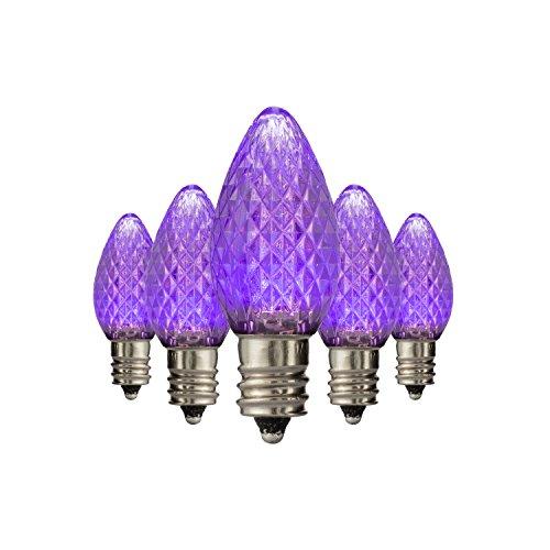 Purple C7 Led Christmas Lights in US - 5