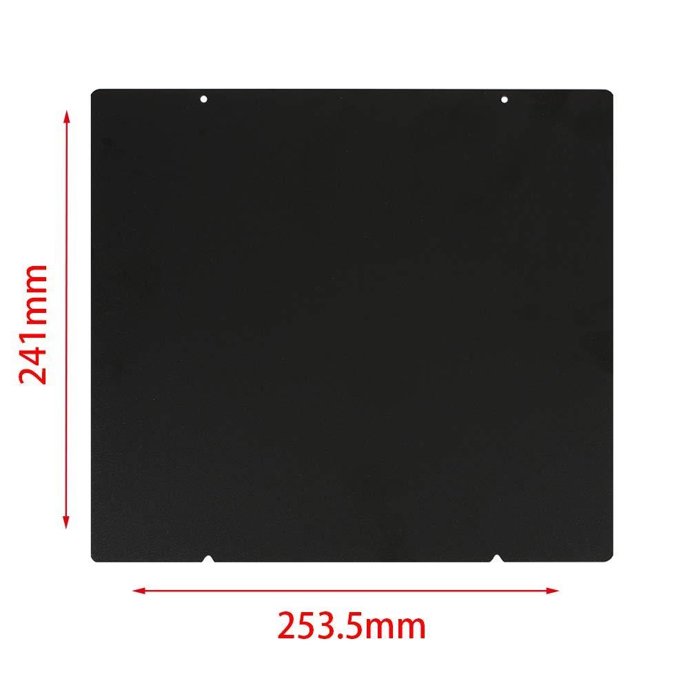 Spring hoja de acero 3d impresora calor cama accesorios, doble ...