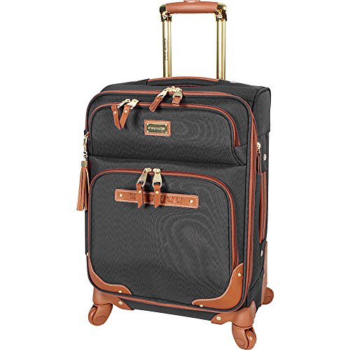 Steve Madden Luggage Carry On Softside 20 Expandable Suitcase With Spinner Wheels