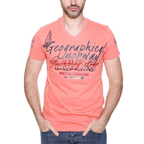 JEANCLAUDE SS MEN 401 von Geographical Norway (M, CORAIL)