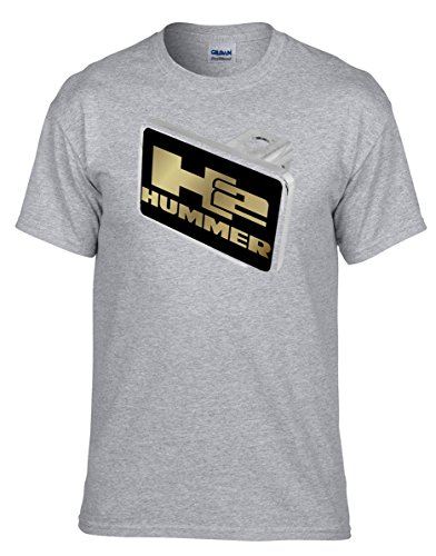 Hummer H2 Auto T-Shirt Funshirt -359-Grau