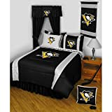 NHL Pittsburgh Penguins Hockey 4pc Twin-Single Bedding Set