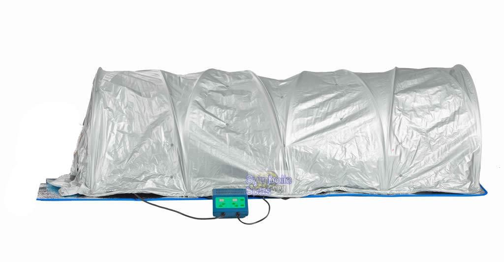 SDI Deals Portable FIR Far Infrared Sauna Slimming Dome Blanket SPA Salon Weight Loss