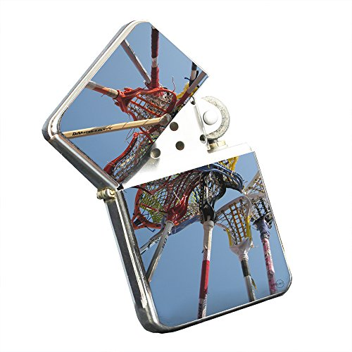 Lacrosse Nets - Silver Chrome Pocket Lighter by Elements of Space by Elements of Space