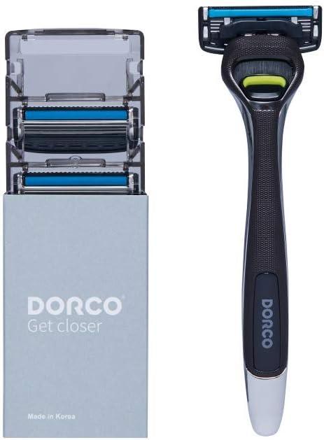 Maquinilla de afeitar Dorco Pace 4 Pro para hombres (4 cuchillas + 1 manija): Amazon.es: Salud y cuidado personal