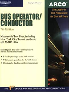 Conductor career examination series c 163 jack rudman bus operator 7e arco civil service test tutor fandeluxe Image collections