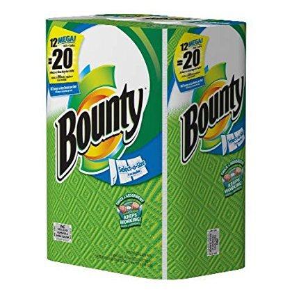 Bounty Select A Size Paper Towels, 12 Mega Rolls ()