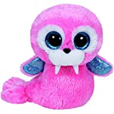 TY - Beanie Boos Tusk, morsa, 15 cm, color rosa (United Labels Ibérica 36187TY)