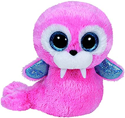 Amazon.com  TY Beanie Boo Plush - Tusk the Walrus 15cm  Toys   Games f647e03825a9