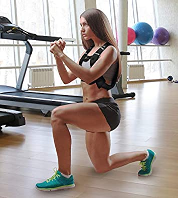 Aduro Sport Weighted Vest Workout Equipment, 4lbs 6lbs 12lbs 20lbs 25lbs Body Weight Vest for Men, Women, Kids
