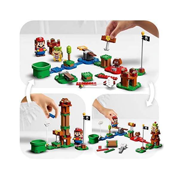 LEGO Super Mario Starter Pack Costruibile per il Percorso di base Avventure con Super Mario, Giocattolo e Idea Regalo… 5 spesavip