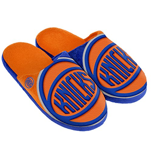 New York Knicks Split Color Slide Slipper Medium