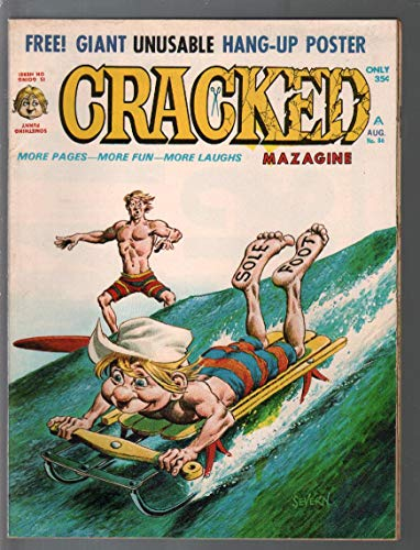 Cracked #86 1970-Major Mags-humor-parody-Surfing-John -