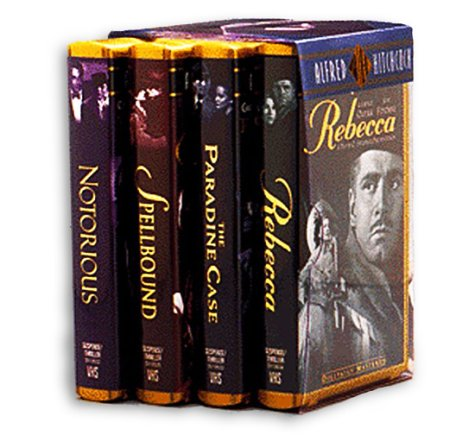 - The Hitchcock Collection (Rebecca, The Paradine Case, Spellbound, Notorious) [VHS]