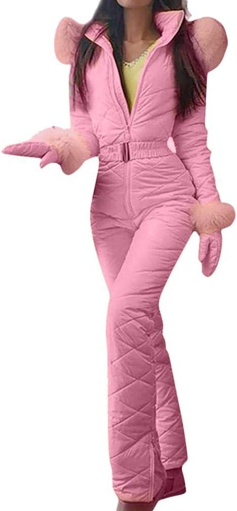 Conjunto De Pantalones De Chaqueta De Esqu/í Para Mujer Traje De Esqu/í Al Aire Libre Traje De Nieve C/álido De Invierno Para Mujer Pantalones Deportivos Al Aire Libre Traje De Esqu/í Mono Impermeable