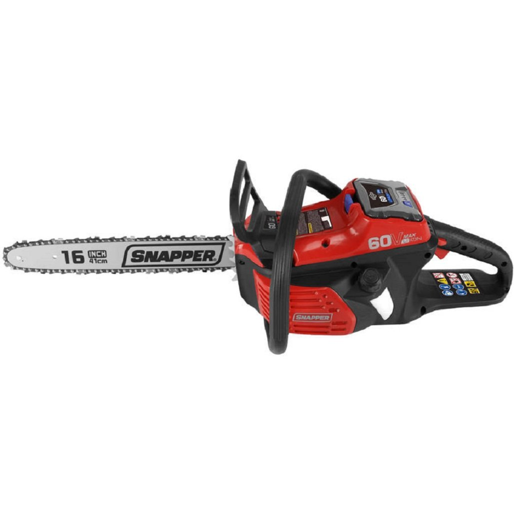 Snapper SC60V 60V Chainsaw Includes 2Ah Battery and Charger